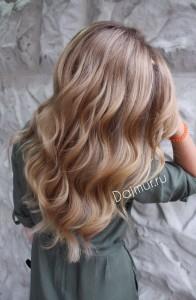 Горячее наращивание волос
