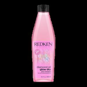 ШампуньRedken Glow Dry Gloss мягко очищает и обеспечивает блеск по всей длине волоса.
