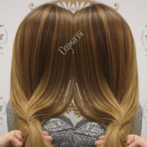 Окрашивание волос Dajmur